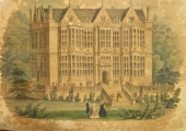 The Hall, lithograph after Elizabeth Tackle drawing