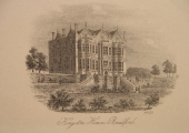The Hall, engraving, artist unknown