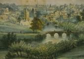 Bradford, Lithograph by Elizabeth Tackle