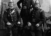 Bradford on Avon, Wiltshire Fire Brigade officers