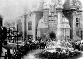 Bradford on Avon, Wiltshire Waterworks opening 1883