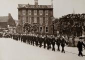 Bradford on Avon Fire, Wiltshire Brigade funeral 1935