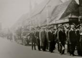 Bradford on Avon, Wiltshire Fire Brigade, 1930s parade