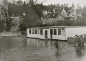 flood, library, St Margaret\'s 1979