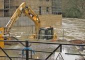 flood, Kingston Mills 2012