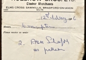 Holbrow Brothers advice note 1966