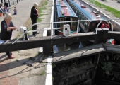 The canal lock