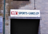 MY Sports sign, Greenland Mills
