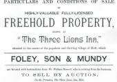 Three Lions sale details