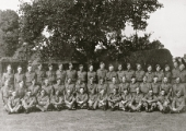 Holt Home Guard in The Courts garden