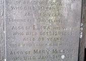 Charles Huntley Milsom, died 1860