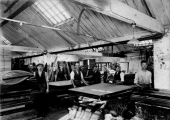 Sawtell\'s bed factory
