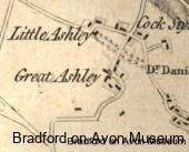 Little Ashley 1773 map