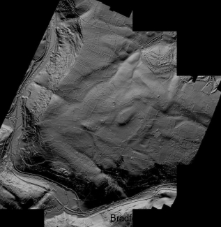 Zoomed Out LIDAR image