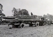 Holbrow tractor and trailer