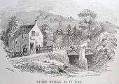 Stokeford Bridge over the River Avon, Limpley Stoke