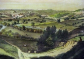 Limpley Stoke valley in the 1850s