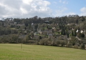 Limpley Stoke, from Winsley Hill