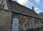 Limpley Stoke National School 1845, now Village Hall