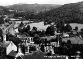 Limpley Stoke, looking down the valley