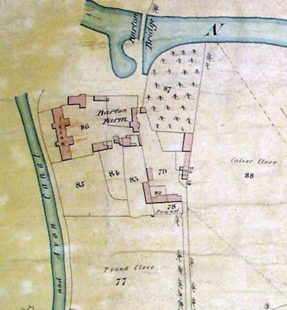 Barton Farm in 1837, Bradford on Avon