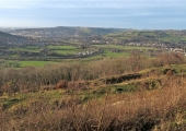 view from Browne\'s Folly towards Bath