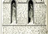 Priory wall, Monkton Farleigh