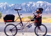 Moulton TSR on tour in California, USA 2005
