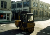 Silver Street and forklift