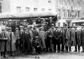 A group of men (firemen?), Salisbury again