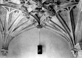 The Priory- fan vaulting, Bradford on Avon