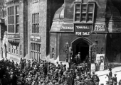 Cinema at the Town Hall, Bradford on Avon in 1915