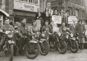 Liberal Party motor cycle rally