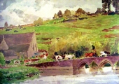Barton Bridge by W.H. Allen, Bradford on Avon