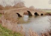 Monkton packhorse bridge, Broughton Gifford