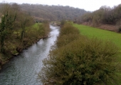 River Avon at Avoncliff