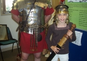 Child with Roman Soldier