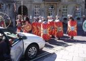 Roman Soldiers in Bradford on Avon