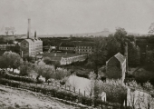 Royal Sirdar Rubber factory, Greenland Mills in 1906