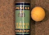 Spencer Moulton tennis balls
