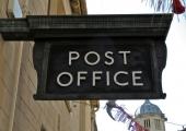 Post Office sign, Shambles, Bradford on Avon