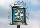 Longs Arms pub sign, South Wraxall