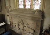 chest tomb, South Wraxall church