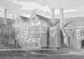 South Wraxall Manor House in 1838