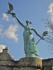 The statue Millie