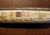 Clothes brush from William Howard Gale, St Margaret\'s Street