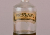 tincture round bottle