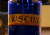 syrup round bottle