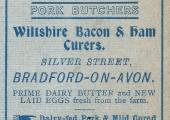 Edwards butcher 1911, Bradford on Avon