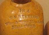 Taylor stoneware jar, Bradford on Avon Museum